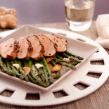 Pork Tenderloin with Asparagus